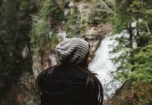 Modna czapka zimowa damska